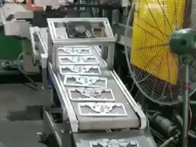 高温输送机应用于压铸车间