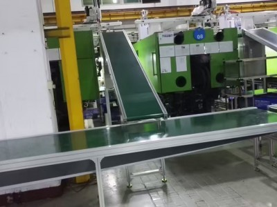 平面输送机应用于注塑车间整厂规划