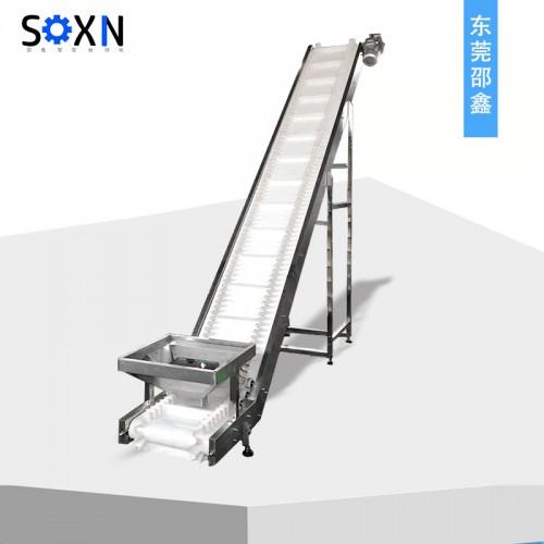 不锈钢提升爬坡机