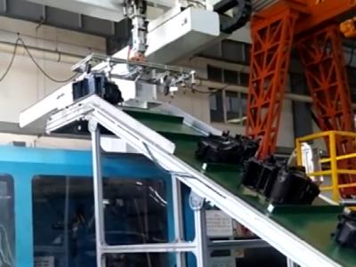一出二机械手控制皮带输送机运行案例