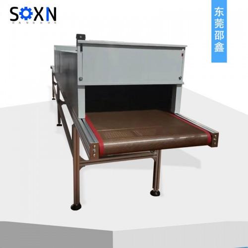 铁氟龙皮带输送机+烤箱