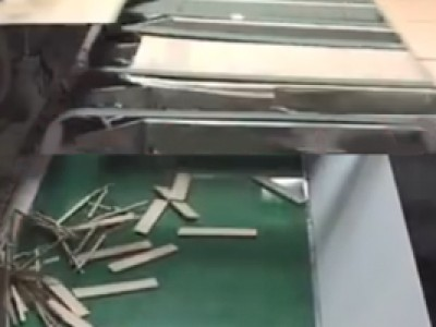 皮带输送机应用于纸箱生产纸屑输送