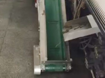 爬坡机应用于拉链头水口输送