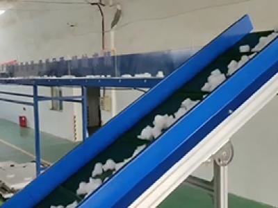珍珠棉排废机废料全自动化输送案例