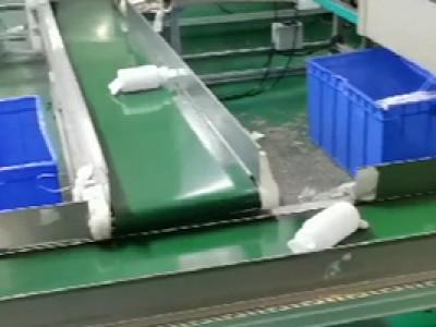 皮带线应用于吹瓶输送