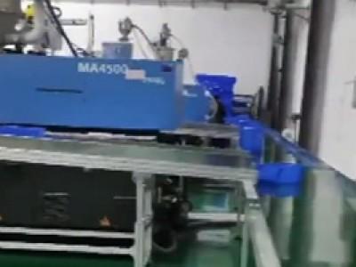 皮带线应用于零件盒输送